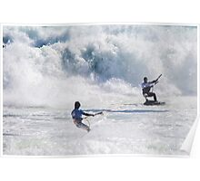 Raging Surf at the King of the Air Poster