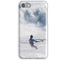Raging Surf at the King of the Air iPhone Case/Skin