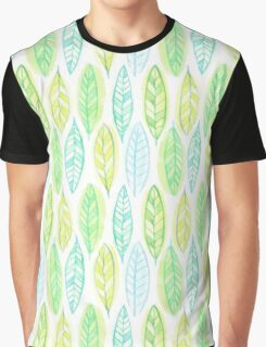Watercolor leaf Graphic T-Shirt