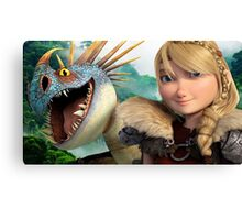 Astrid - How to Train Your Dragon 1 Canvas Print