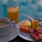 Costa Rica. Breakfast at the pool. by vadim19