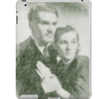 Laurence Olivier and Joan Fontaine iPad Case/Skin