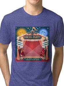 Circus 02 Invitation Vintage 2D Tri-blend T-Shirt