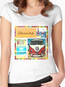 Seaside Women's Fitted Scoop T-Shirt