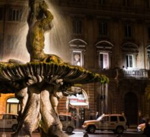Rome's Fabulous Fountains - Fontana del Tritone Sticker