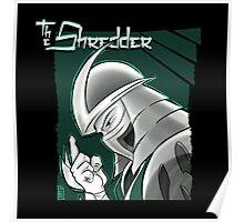 The Shredder - Technodrome Control-screen Blue-Green   Poster