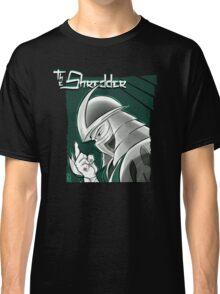 The Shredder - Technodrome Control-screen Blue-Green   Classic T-Shirt