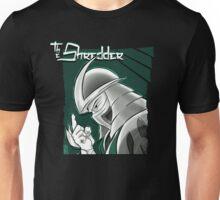 The Shredder - Technodrome Control-screen Blue-Green   Unisex T-Shirt