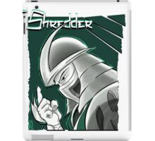 The Shredder - Technodrome Control-screen Blue-Green   iPad Case/Skin