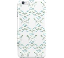 Winter Tile print iPhone Case/Skin