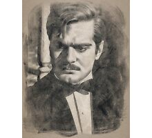 Omar Sharif by John Springfield Photographic Print