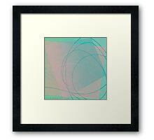 'Placid', Abstract Thinking Series 21 Framed Print