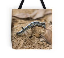 Cute caterpillar macro Tote Bag