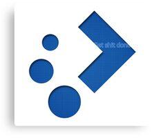Plasma Logo 2 Canvas Print