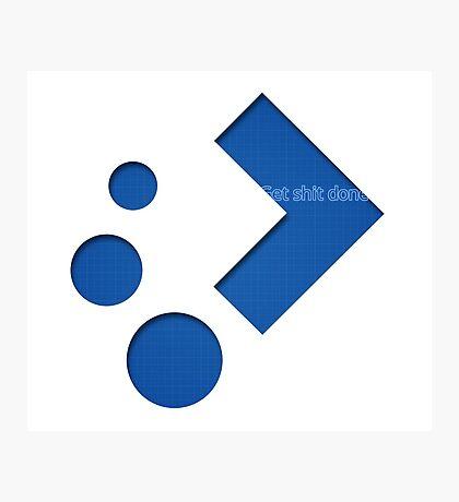 Plasma Logo 2 Photographic Print