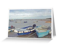 Harbour. Greeting Card
