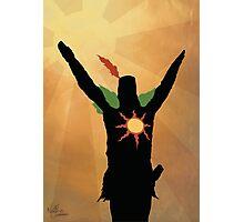 Praise the Sun! Photographic Print