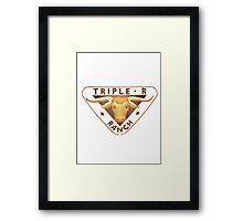 Toy Story 2 Movie Andy Replica T-Shirt Framed Print