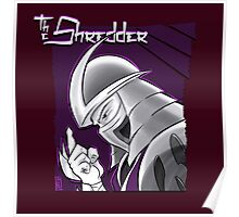 The Shredder - Purple Foot Clan Poster
