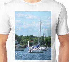 Harbor At Bristol RI Unisex T-Shirt