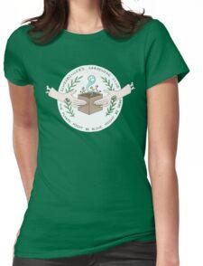 Schrodinger's Garden Club Womens Fitted T-Shirt