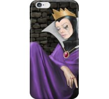 Evil Witch just heard the news... iPhone Case/Skin