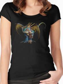 Astrid - How to Train Your Dragon 4 Women's Fitted Scoop T-Shirt