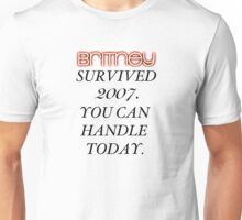 Britney Survived, Blackout. Unisex T-Shirt