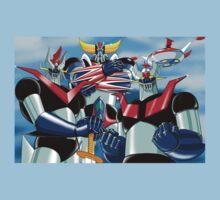 Goldrake Grendizer and Mazinger, best super robots Kids Clothes