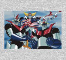 Goldrake Grendizer and Mazinger, best super robots One Piece - Long Sleeve