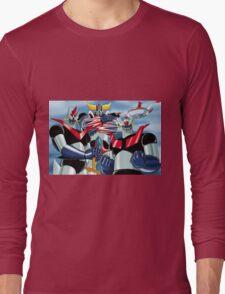 Goldrake Grendizer and Mazinger, best super robots Long Sleeve T-Shirt