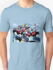 Goldrake Grendizer and Mazinger, best super robots T-Shirt