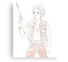 Han Winchester - Sam Solo Canvas Print