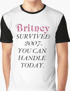 Britney Survived, Britney. Graphic T-Shirt