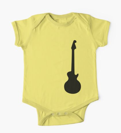Simple Guitar  One Piece - Short Sleeve