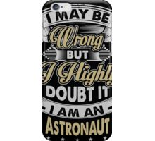 ASTRONAUT COVERS iPhone Case/Skin
