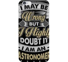 ASTRONOMER COVERS iPhone Case/Skin