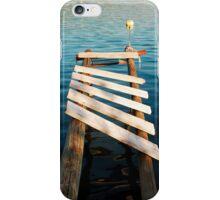 Boardwalk in Bakar Harbour iPhone Case/Skin