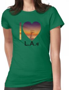 L.A. Womens Fitted T-Shirt
