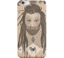 Lumberjack and his wolf iPhone Case/Skin