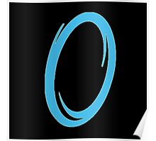 Blue portal Poster