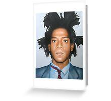Jean-Michel Basquiat Greeting Card