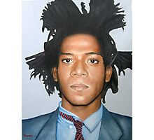 Jean-Michel Basquiat Photographic Print