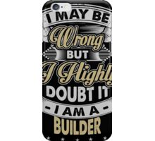 BUILDER COVERS iPhone Case/Skin