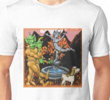 Martians Waling a Springer Spaniel Unisex T-Shirt