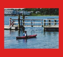 Kayaking At Bristol RI One Piece - Short Sleeve