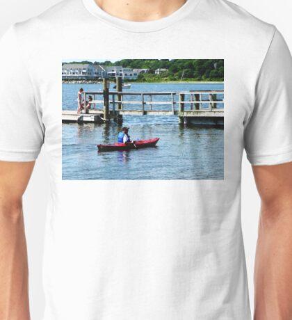 Kayaking At Bristol RI Unisex T-Shirt