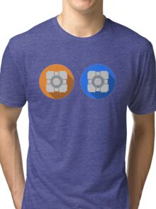 Cube portal Tri-blend T-Shirt