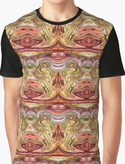 Mirrored Electric Red Graphic T-Shirt