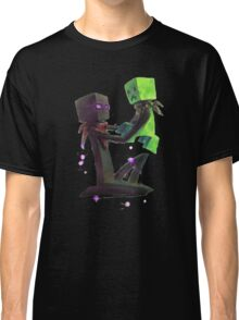Creeper and Enderman, Minecraft Classic T-Shirt